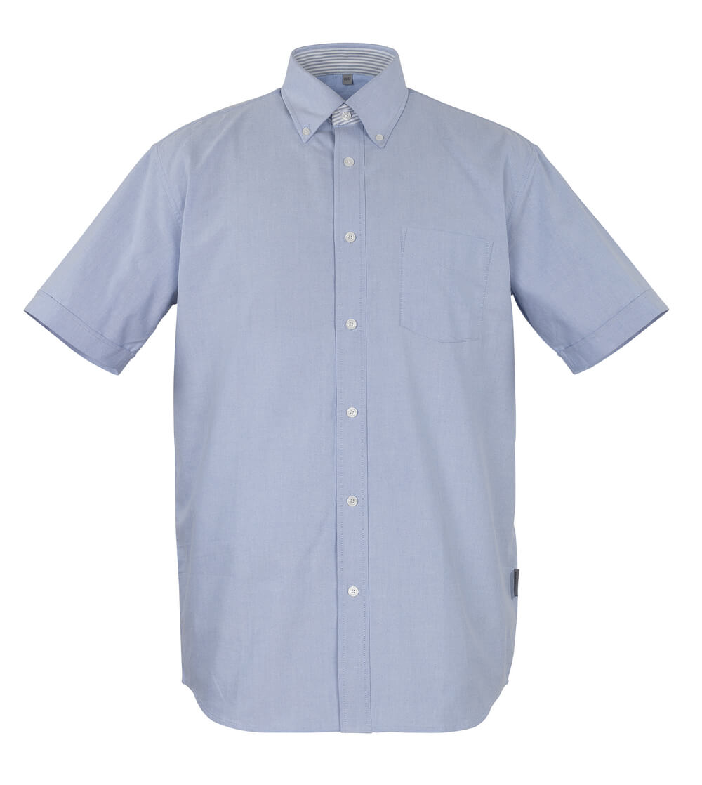 50377-887-B13 Skjorte, kortærmet - oxford blå