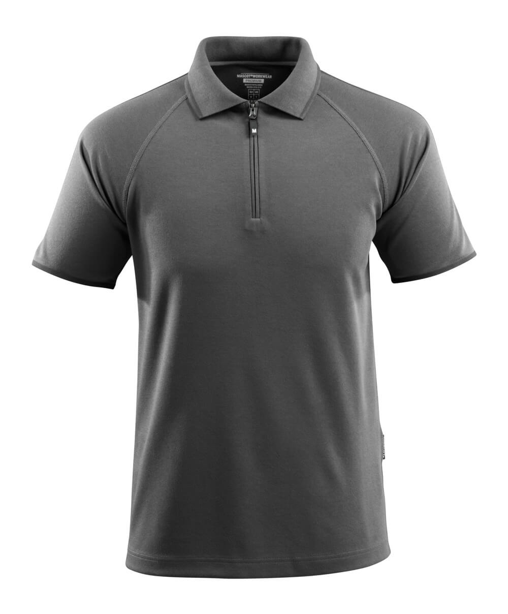 50458-978-18 Poloshirt - mørk antracit