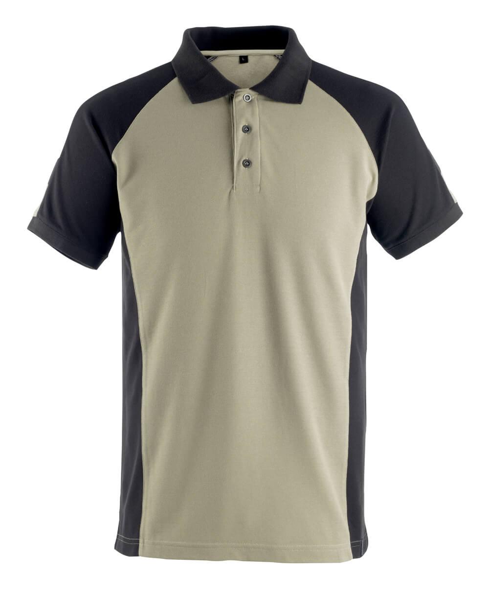 50502-260-5509 Poloshirt - lys kaki/sort
