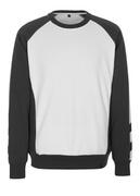 50503-830-0618 Sweatshirt - hvid/mørk antracit
