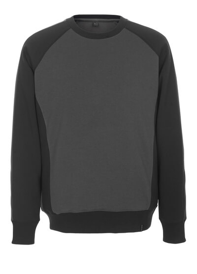 50503-830-1809 Sweatshirt - mørk antracit/sort