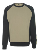 50503-830-5509 Sweatshirt - lys kaki/sort