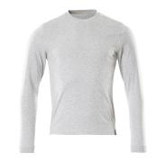 50548-250-08 T-shirt, langærmet - grå-meleret