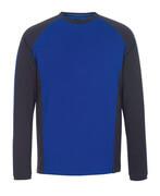 50568-959-11010 T-shirt, langærmet - kobolt/mørk marine