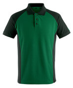 50569-961-0309 Poloshirt - grøn/sort