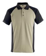 50569-961-5509 Poloshirt - lys kaki/sort