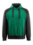 50572-963-0309 Hættetrøje - grøn/sort