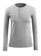 50581-964-08 T-shirt, langærmet - grå-meleret
