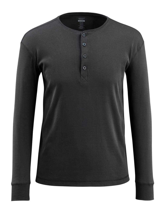 50581-964-09 T-shirt, langærmet - sort