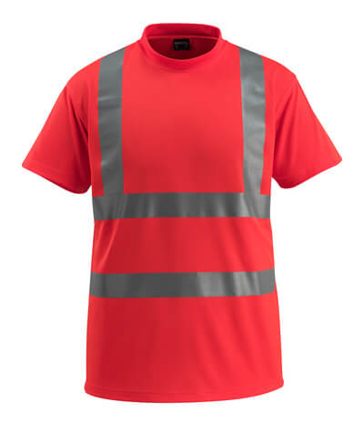 50592-976-222 T-shirt - hi-vis rød