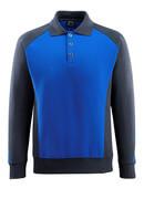50610-962-11010 Polosweatshirt - kobolt/mørk marine