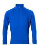 50611-971-11 Sweatshirt med kort lynlås - kobolt