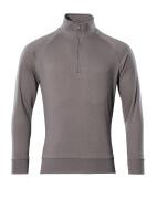 50611-971-888 Sweatshirt med kort lynlås - antracit