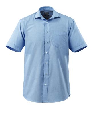 50628-988-71 Skjorte, kortærmet - lys blå