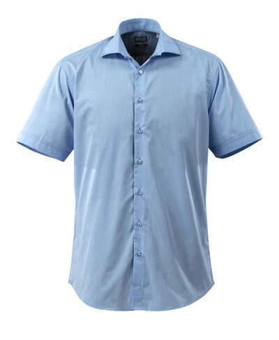 50632-984-71 Skjorte, kortærmet - lys blå