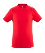51579-965-202 T-shirt - signalrød