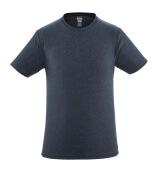 51579-965-66 T-shirt - vasket mørkeblå denim