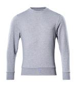 51580-966-08 Sweatshirt - grå-meleret