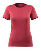 51583-967-96 T-shirt - hindbærrød