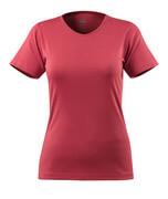 51584-967-96 T-shirt - hindbærrød