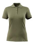 51588-969-33 Poloshirt - mosgrøn