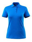 51588-969-91 Poloshirt - azurblå