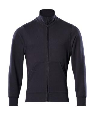 51591-970-010 Sweatshirt med lynlås - mørk marine