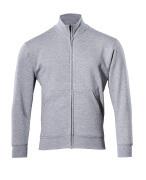 51591-970-08 Sweatshirt med lynlås - grå-meleret