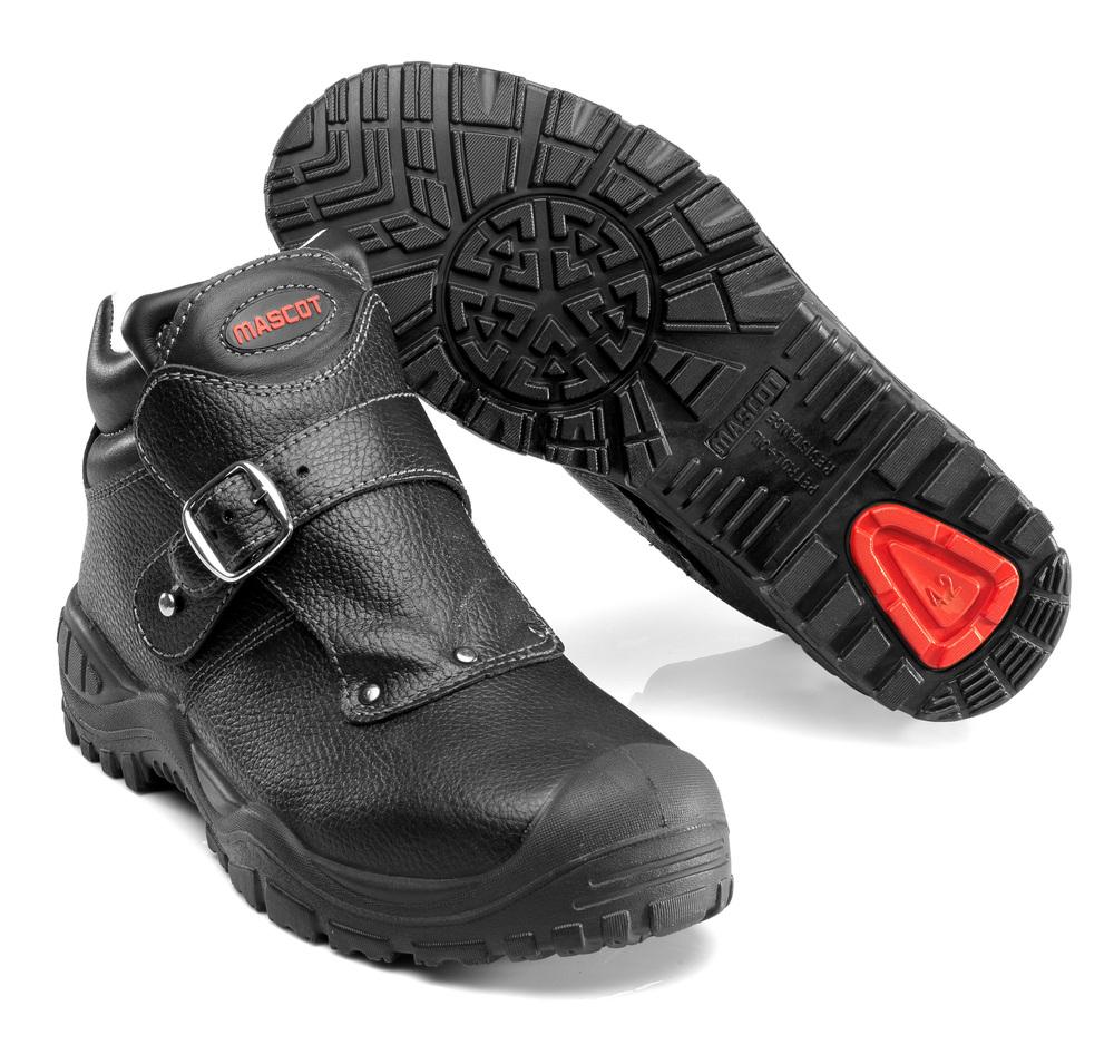 F0072-911-09 Sikkerhedsstøvle - sort