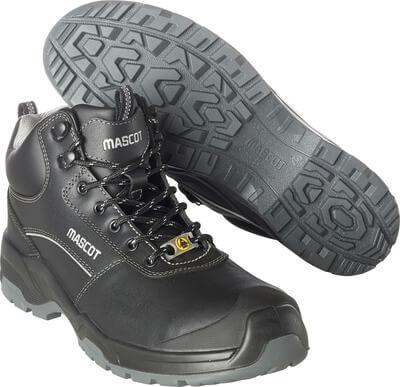 F0128-775-09 Sikkerhedsstøvlet - sort