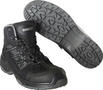 F0129-947-09 Sikkerhedsstøvlet - sort