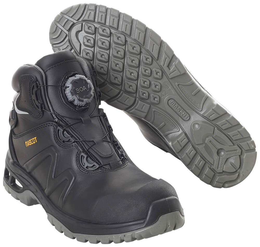 F0136-902-09 Sikkerhedsstøvle - sort