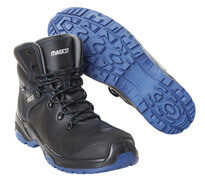 F0141-902-0901 Sikkerhedsstøvle - sort/kobolt
