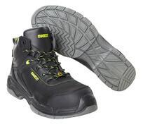 F0143-902-09 Sikkerhedsstøvlet - sort