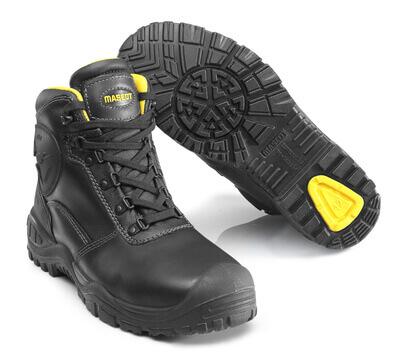 F0165-902-0907 Sikkerhedsstøvle - sort/gul