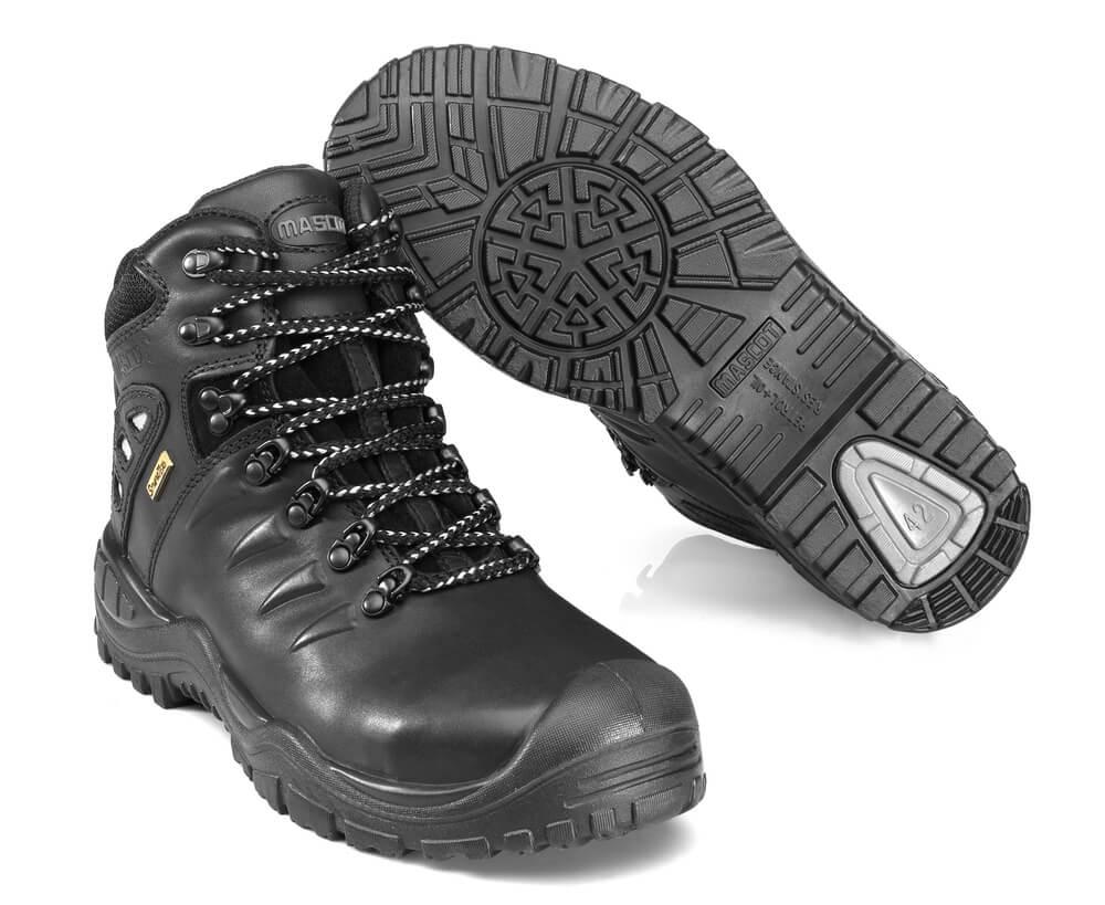 F0169-902-09 Sikkerhedsstøvle - sort