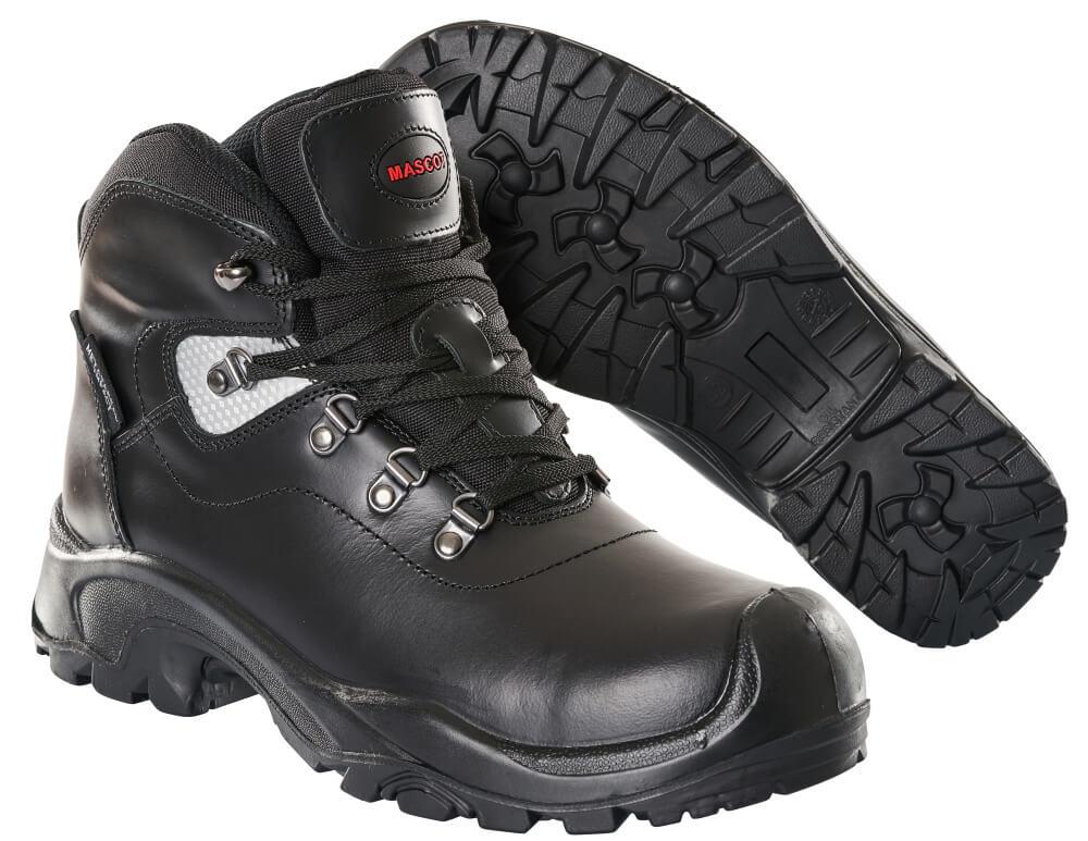 F0220-902-09 Sikkerhedsstøvle - sort