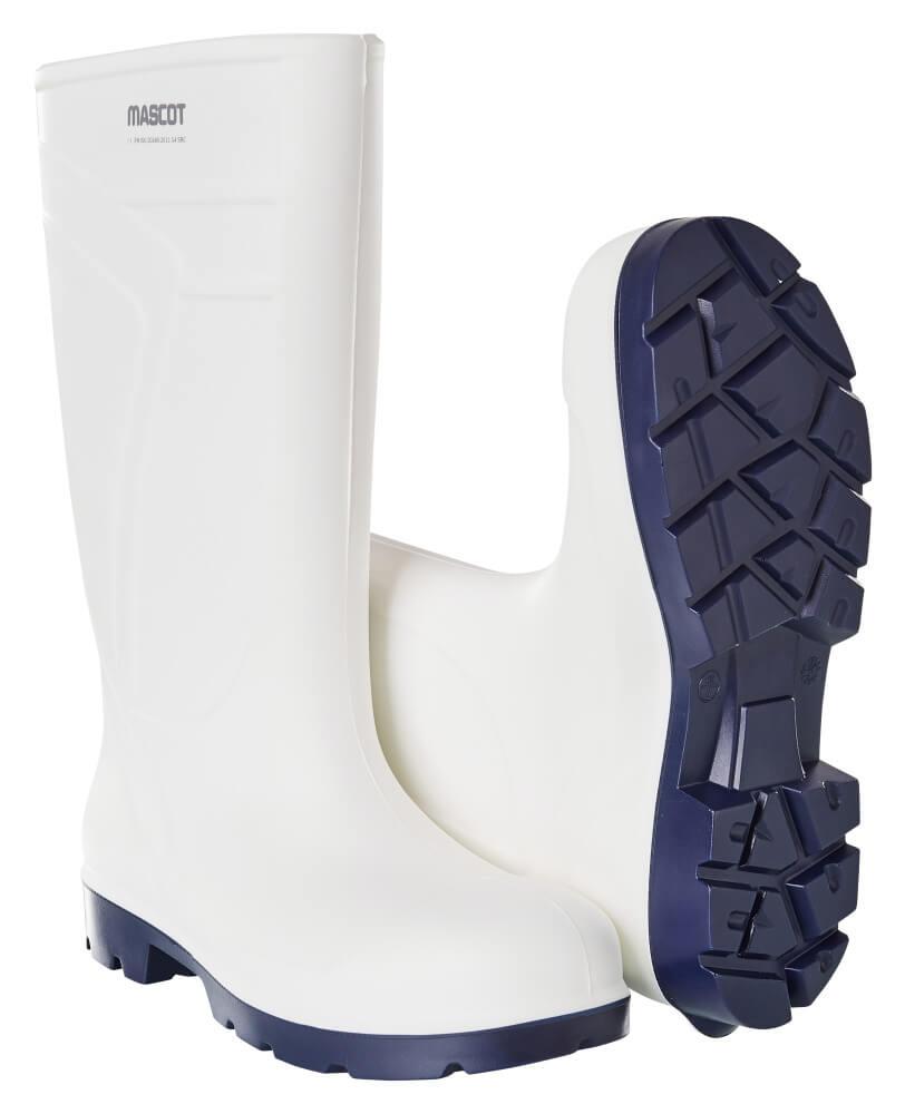 F0850-703-06 PU-arbejdsstøvler - hvid