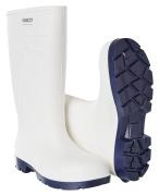 F0851-703-06 PU-sikkerhedsstøvler - hvid