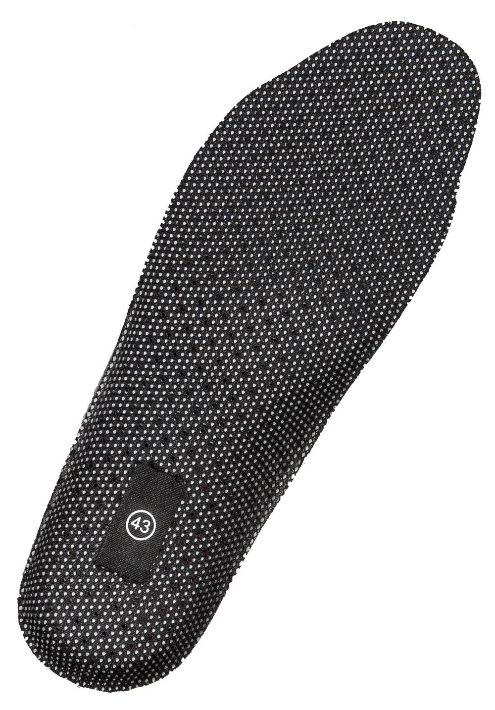 FT086-980-09 Indlægssåler - sort